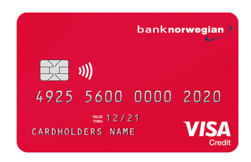 bank norwegian bäst kreditkort